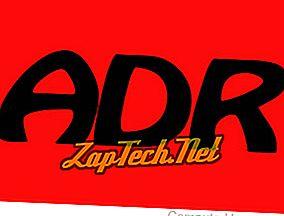 Kaj je ADR (naslov)?