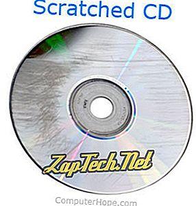 Хоће ли огреботина узроковати да ЦД или ДВД не раде?