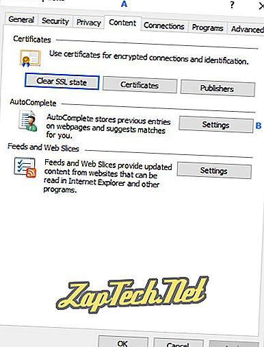 So fügen Sie Autofill-Daten hinzu, ändern oder löschen